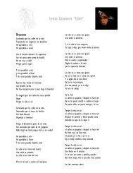 """Letras Canciones """"Libre"""" - Maridalia Hernandez"""