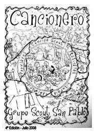 Cancionero - Scouts MSC