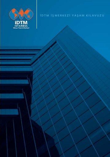 İDTM tanıtım kitapçığı. - İstanbul Dünya Ticaret Merkezi