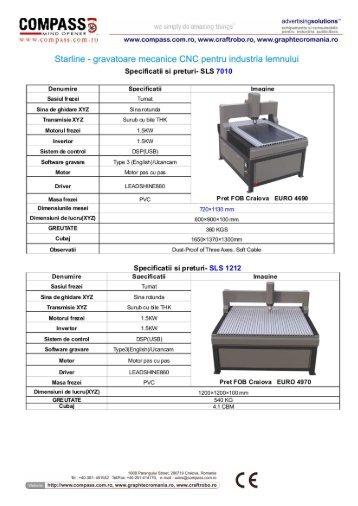 Starline SLS - gravatoare CNC pentru industria lemnului RO iunie.cdr