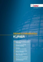 Diepholz/Nienburger Kurier Frühjahr 2012 - Axel Knoerig
