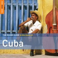 THE ROUGH GUIDE to the music of - WRUV Reviews
