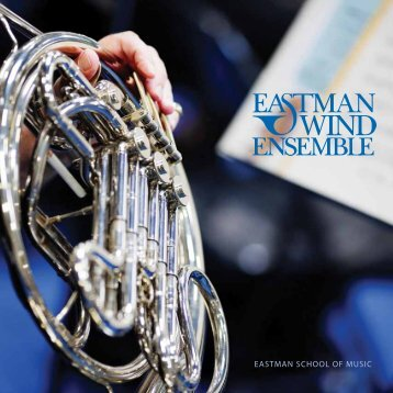 Program notES - Eastman School of Music - University of Rochester