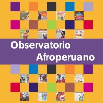 cómo funciona el observatorio afroperuano? - Lundú