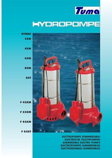 Prospekt Hydro - Tuma Pumpensysteme GmbH.