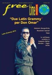 Due Latin Grammy per Don Omar - freetimelatino.it