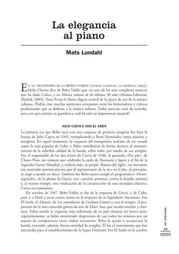 diccionario de la música cubana - Herencia Latina