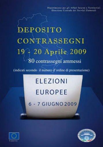 Immagini Contrassegni - Ministero Dell'Interno