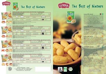 información... (pdf - 1 Mo) - Lutosa