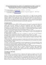 Articolo Completo - Laboratorio di Geomatica