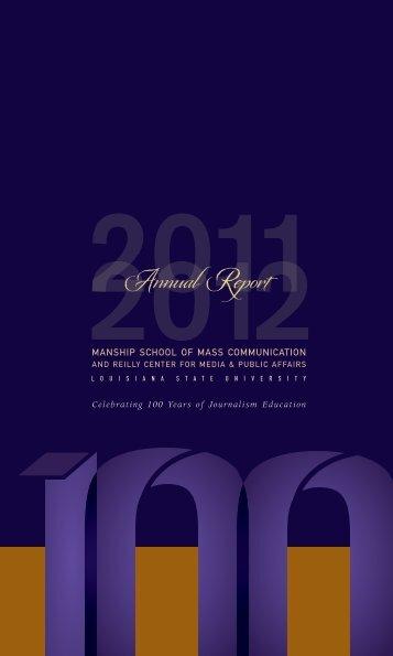 2011 2012 - Louisiana State University