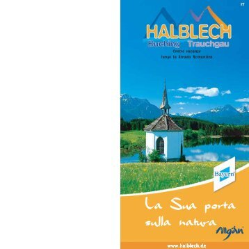 La Sua porta sulla natura - Halblech