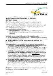 Umweltfreundliche Gastlichkeit in Salzburg ... - Land Salzburg