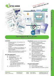 Operatorpanel OP 177 B Color - Tuttas + Jensen