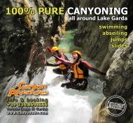 100% pure canyoninG - Canyon Adventures