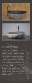LAVABI CREATI DALLA NATURA - H2O Stone Srl - Page 3
