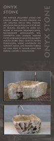 LAVABI CREATI DALLA NATURA - H2O Stone Srl - Page 4