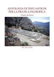 antologia di testi antichi per la pratica filosofica - In quiete