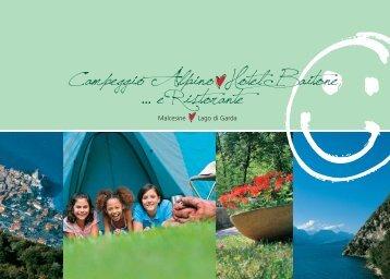 Alpino Hotel Camping - Depliant 2010 COPIA.indd - Campeggio ...