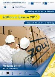 Zollforum Bayern 2011 - Industrie und Handelskammer zu Coburg
