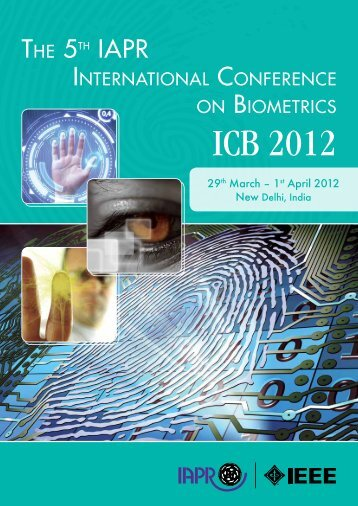 ICB 2012 - The 5th IAPR International Conference on Biometrics ...