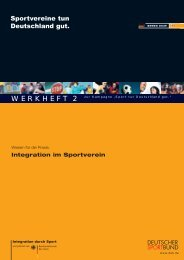 ja - Integration durch Sport