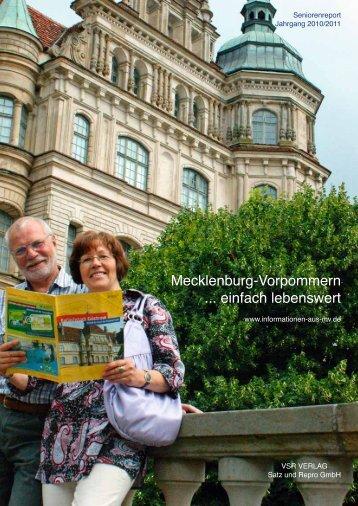 Mecklenburg-Vorpommern ... einfach lebenswert - Informationen ...