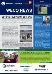 Aktuální číslo Newsletteru zde... - Weco-Travel