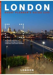 Contents : Event planner guide : Visit London - Planet Planit