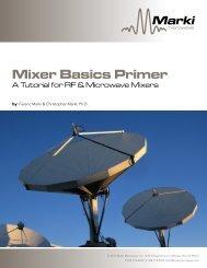 Mixer Basics Primer - Marki Microwave