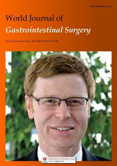 Gastrointestinal Surgery - World Journal of Gastroenterology