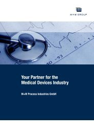 Your Partner for the Medical Devices Industry - M+W Process ...