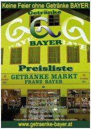 Nettopr. Prod. Preis Zust. Gebinde MWSt. Artikel ... - Getränke Bayer