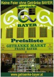 Nettopr. Prod. Preis Gebinde MWSt. Artikel Zust ... - Getränke Bayer