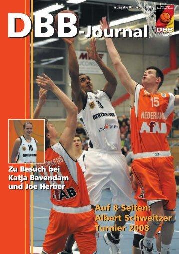 Das letzte Hurra! - Deutscher Basketball Bund