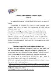 ATIVIDADES COMPLEMENTARES – CURSOS DE GESTÃO - Unip