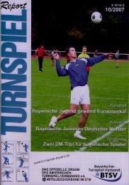 10/2007 - Bayerischer Turnspiel- Verband
