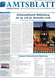 Schlossweihnacht Waldenburg am 29. und 30. November 2008
