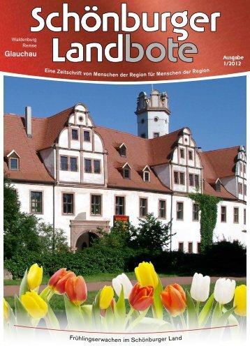 Radtour durchs Schönburger Land Glauchau - Waldenburg - Meerane