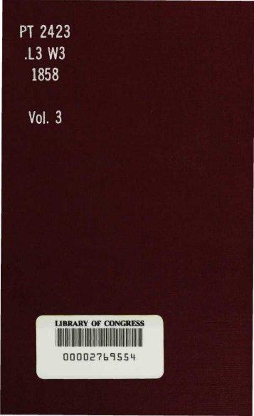 Wandlungen. Roman, von Fanny Lewald ... Volume 3. - Library of ...