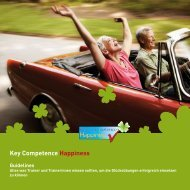 Key Competence Happiness Guidelines