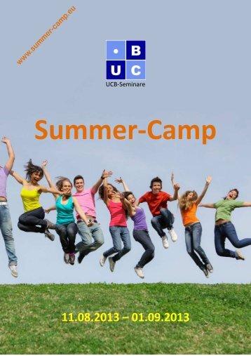 Summer-Camp - 20 Jahre UCB