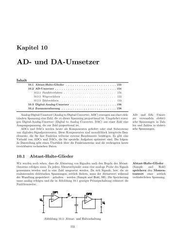 AD- und DA-Umsetzer