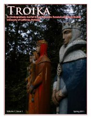 An Undergraduate Journal in East European, Eurasian, and Slavic ...