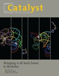 Bringing it all back home to Berkeley - Catalyst - University of ...