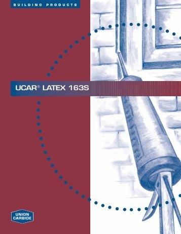 UCAR® LATEX 163S - Arkema Inc.
