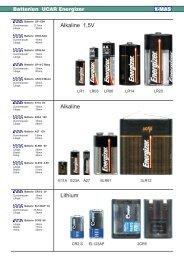 Batterie UCAR Energizer - X-MAS