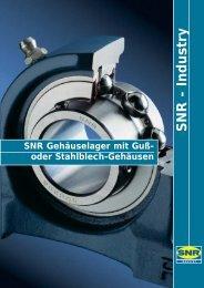 SNR Gehäuselager - Kahmann und Ellerbrock
