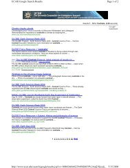 Page 1 of 2 UCAR Google Search Results 5/15/2009 http://www ...