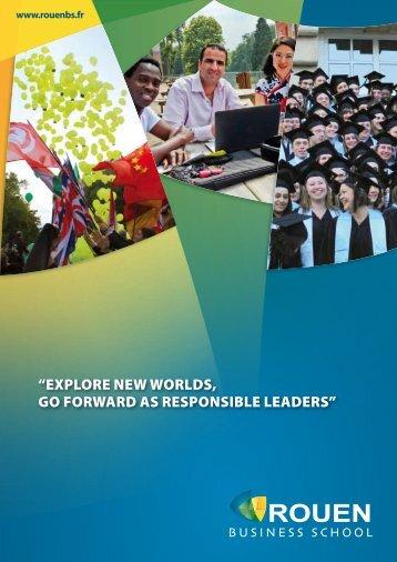 bachelor programmes - Rouen Business School